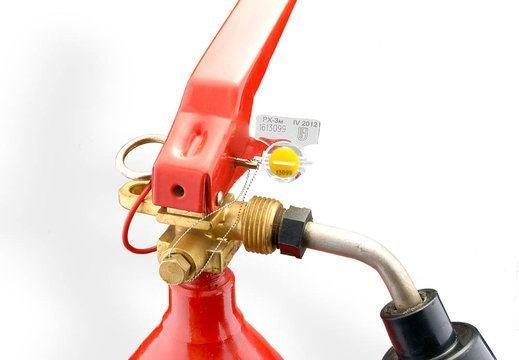 Роторные пломбы для огнетушителей купить по цене 4,3 ₽ за штуку